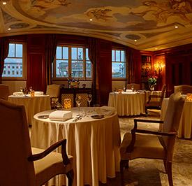 Рестораны при отеле
